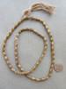 Fancy Brass Spacer Beads (4-5x9mm)