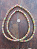 Mixed African Vinyl Disk Beads (8x1mm)