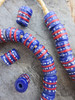 Krobo Glass Beads (12x13mm)