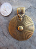 Large Brass Pendant (41x33mm)