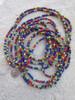 Mixed Ghana Glass Beads - 3 Strands (4x3mm)