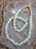 Frosty Ghana Glass Beads (13x12mm)