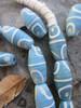 Robin's Egg Blue African Fancy Glass Beads