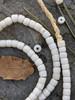 Antique White Masai Beads (5x4mm)