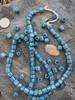 Vintage Striped Gooseberry Beads