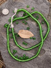 Green Zusura Beads (6x3mm)