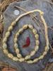 Wound Brass Beads (12-13x17-19mm)