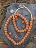 Krobo Glass Beads (13x11mm)
