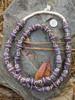 Purple African Fancy Glass Beads