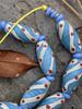 Light Blue African Fancy Glass Beads