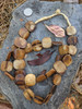 Batik Bone Beads (22-24x22-24mm)