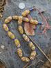 Caramel African Fancy Glass Beads