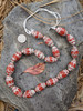 Red African Fancy Glass Beads