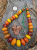 African Copal Beads