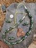 Hunter Green African Fancy Glass Beads