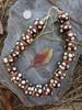 Large Batik Bone Beads