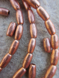 Copper Spacer Beads (5x9mm)