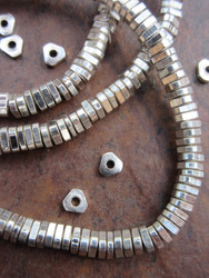 Silver Spacer Beads (4x1mm)