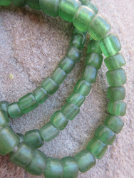 Green Gooseberry Beads (4-7x4-5mm)