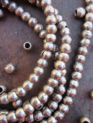 Silver Spacer Beads (5x4mm)
