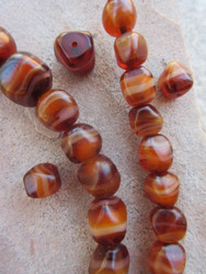 Glass Agate Beads
