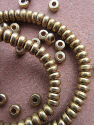 Brass Spacer Beads (5x3mm)