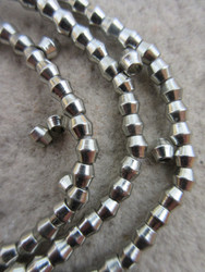 Silver Spacer Beads (4x4mm)