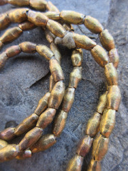 Old Brass Spacer Beads (4x6-8mm)