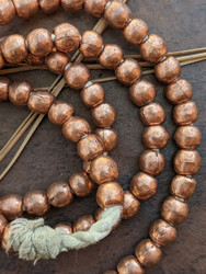 Copper Spacer Beads (7x6mm)