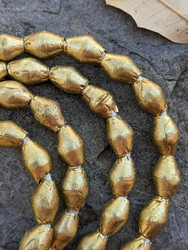 Brass Spacer Beads (7x10mm)