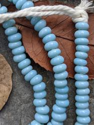 Baby Blue Zusura Beads (5-6x2-3mm)