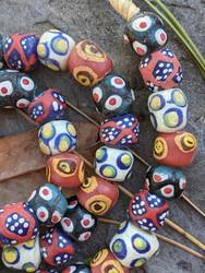 Mixed Krobo Glass Beads