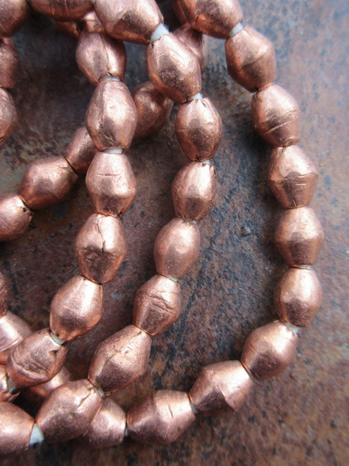Brass Spacer Beads (6x7mm)