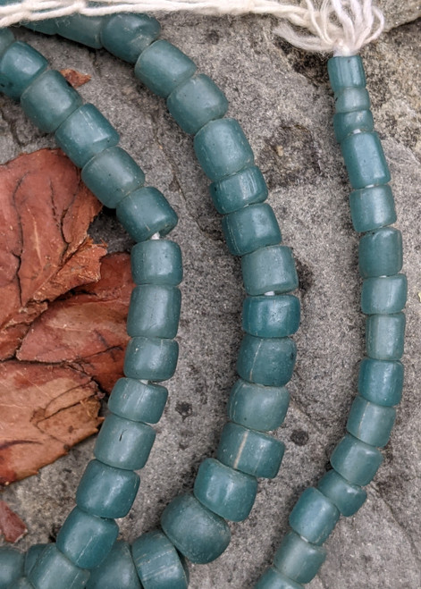 Robin's Egg Blue Gooseberry Beads