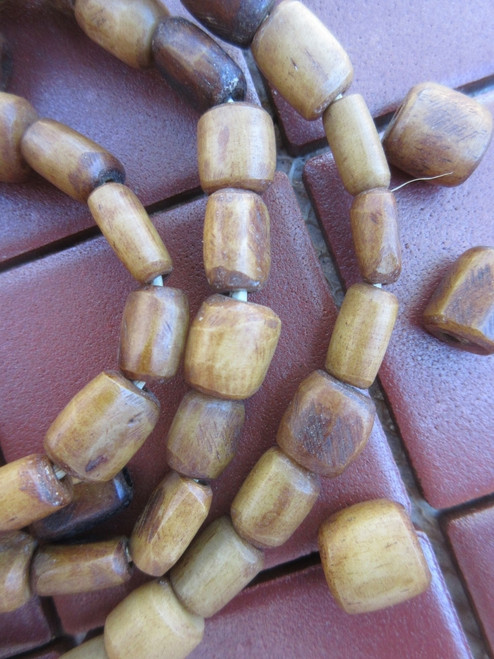 African Dyed Bone Beads
