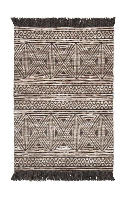 Kylin Taupe/Black Medium Rug
