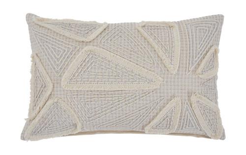 Irvetta Cream/Taupe Pillow
