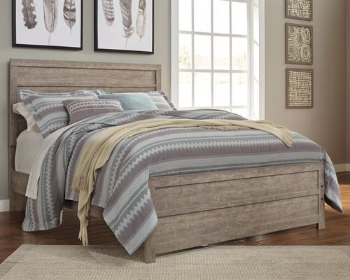 Culverbach Gray Queen Panel Bed