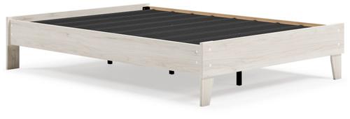 Socalle Natural Full Platform Bed