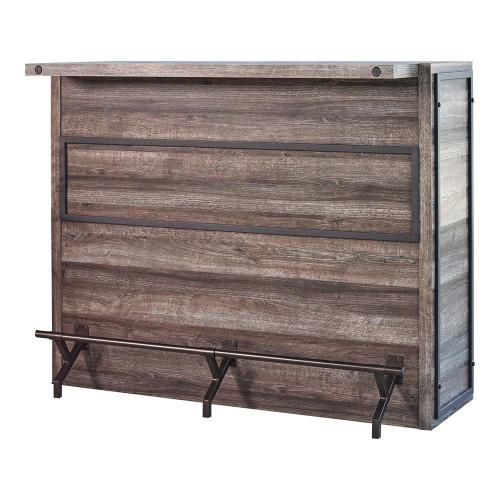 5-shelf Bar Unit Aged Oak (182071)