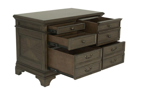 Hartshill Collection - Hartshill 5-drawer File Cabinet Burnished Oak (881284)