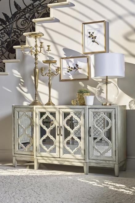 4-door Accent Cabinet Antique White (953376)