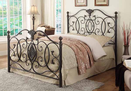 Gianna Metal Bed - Full Bed - (300392F)