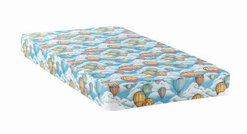"""Balloon Mattress With Bunkie - Balloon - 5"""" Full Balloon Foam Mattress With Wood Bunkie Blue (350022F)"""
