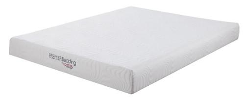 "Keegan 8"" Mattress - White - Keegan Full Memory Foam Mattress White (350063F)"