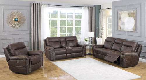 Wixom Motion Collection - Brown - 3 Pc Set (603511PP-S3)