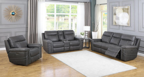 Wixom Motion Collection - Charcoal - 3 Pc Set (603514PP-S3)