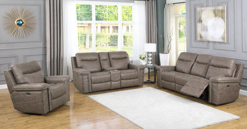 Wixom Motion Collection - Taupe - 3 Pc Set (603517PP-S3)