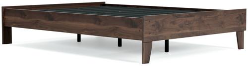 Calverson Mocha Full Platform Bed