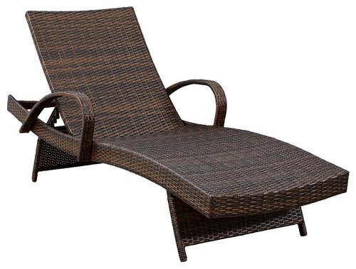Kantana Brown Chaise Lounge (2/CN)